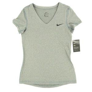 Nike Dri-Fit V-Neck Shirt Victory Baselayer Legend